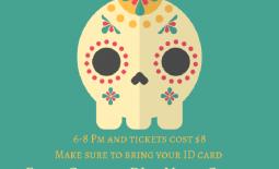 Dia De Los Muertos Dance Flyer