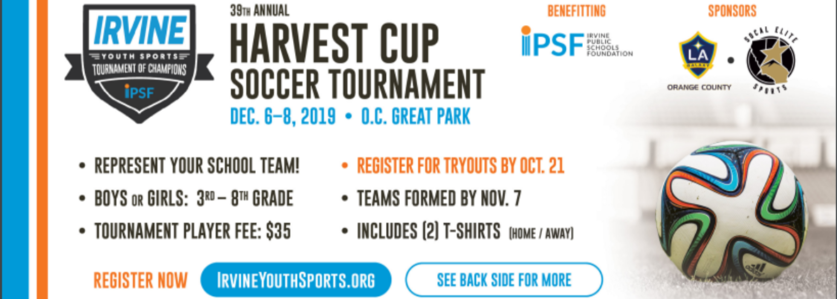 Harvest Cup Information